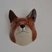 Quail Ceramics Fox Head Wall Vase additional 3