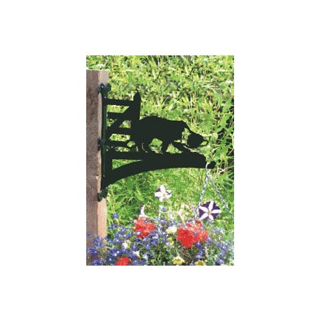 Working Collie Hanging Basket Bracket