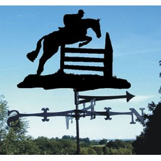 Horse Jumping Weathervane