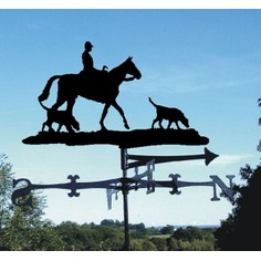 """Charlie"" Horse and Hound Weathervane"