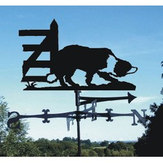 Working Collie Dog Weathervane