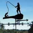 """Big Fish"" Fisherman Weathervane additional 1"