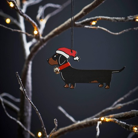 Sweet William Dachshund Christmas Decoration