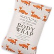 The Wheat Bag Company Lavender Microwavable Wheatbag Body Wrap - Foxes additional 1