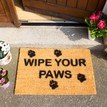 Coir 'Wipe Your Paws' Doormat additional 4