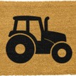 Coir Tractor Silhouette Doormat additional 1