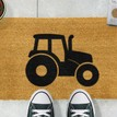 Coir Tractor Silhouette Doormat additional 3