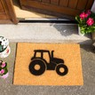 Coir Tractor Silhouette Doormat additional 4