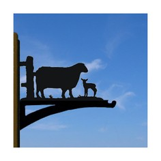 Sheep Hanging Basket Bracket