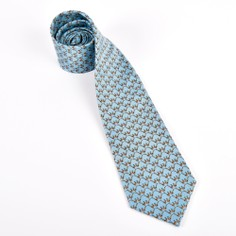 Fox and Chave Bryn Parry Pheasants Silk Tie