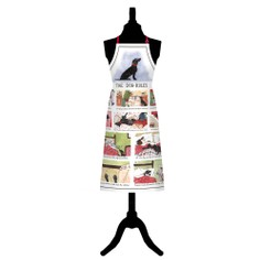 Tottering By Gently Dog Rules Cotton Apron