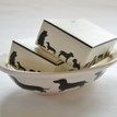 Victoria Armstrong Dachshund Soap Dish and 2 Soaps additional 3
