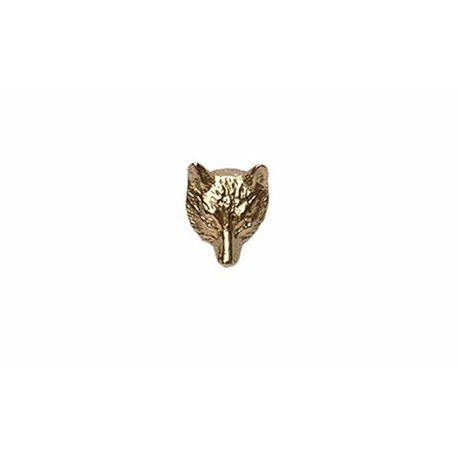 Fox Head 9ct Gold Tie Tac
