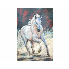 Primus 3D White Stallion Wall Art
