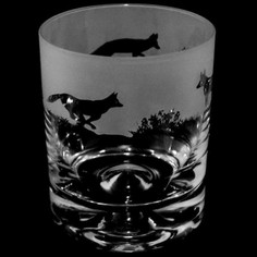 Animo Glass Fox Whisky Tumbler