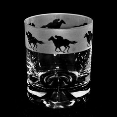 Animo Glass Racehorse Whisky Tumbler