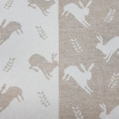 The Isle Mill Hare on Fawn Throw