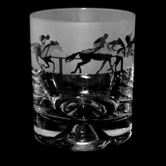 Animo Glass At The Races Whisky Tumbler