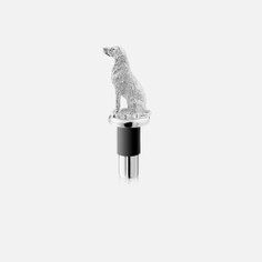 Silver Plated Labrador Bottle Stopper