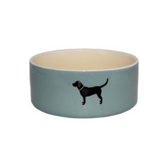 Bailey & Friends Blue Labrador Dog Bowl