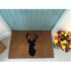 Extra Large Stags Head Doormat - 90cm x 60cm