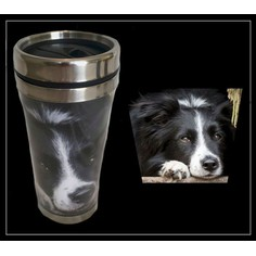 Country Matters Collie Thermal Travel Mug