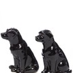 Quail Ceramics Black Labrador Salt & Pepper Shaker Pots additional 2