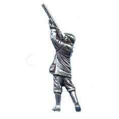 Pewter Lapel Pin - Shooter