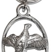 Pewter Pheasant Key Ring additional 1