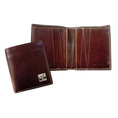 Tyler & Tyler Leather Jeans Wallet - Rutting Stags