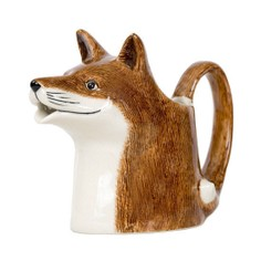 Quail Ceramics Fox Design Jug - Medium
