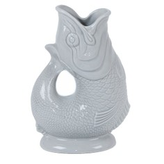 Dove Grey Gluggle Jug - Extra Large