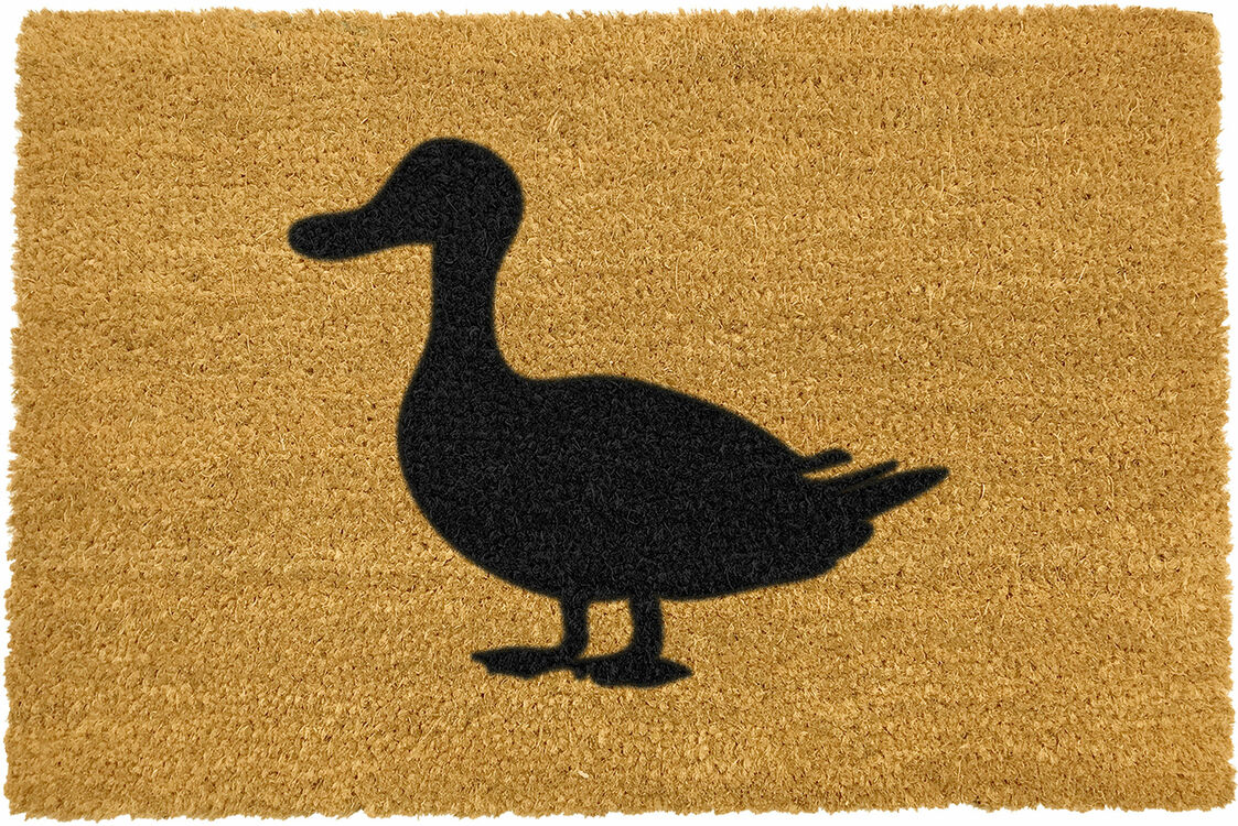 Coir Duck Silhouette Doormat Only 163 16 50