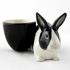 Dutch Rabbit With Egg Cup