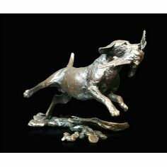 Small Labrador Retrieving Sculpture