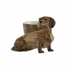 Dachshund Egg Cup - Red