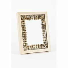 Hen Pheasant Feather Wooden Photo Frame