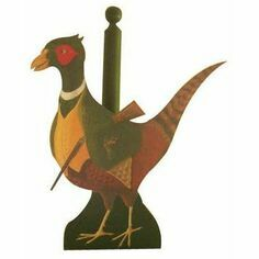 Pheasant Loo/Kitchen Roll Holders